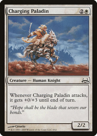 Charging Paladin [Duel Decks: Divine vs. Demonic] | Mothership Books and Games TX