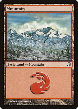 Mountain (378) [Coldsnap Theme Decks] | Mothership Books and Games TX