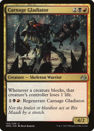Carnage Gladiator [Modern Masters 2017] | Mothership Books and Games TX