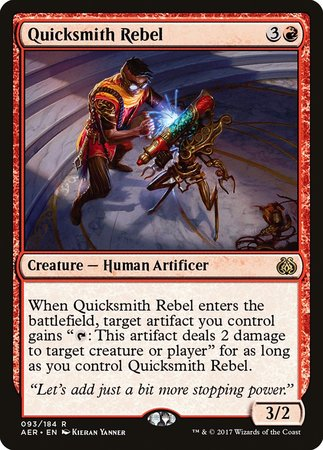 Quicksmith Rebel [Aether Revolt] | Mothership Books and Games TX