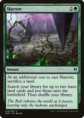 Harrow [Duel Decks: Zendikar vs. Eldrazi] | Mothership Books and Games TX