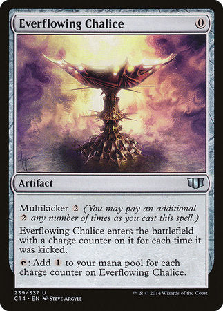 Everflowing Chalice [Commander 2014] | Mothership Books and Games TX
