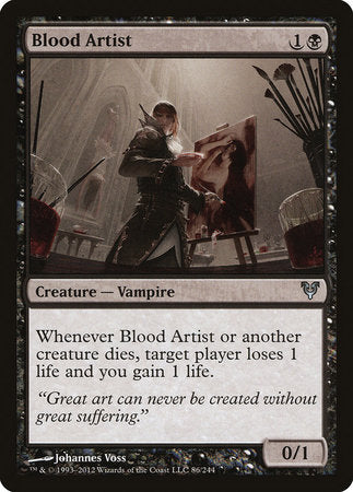 Blood Artist [Avacyn Restored] | Mothership Books and Games TX