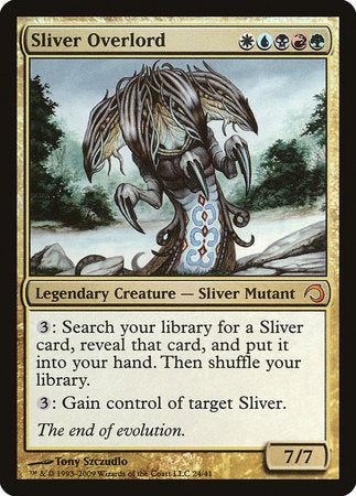 Sliver Overlord [Premium Deck Series: Slivers] | Mothership Books and Games TX