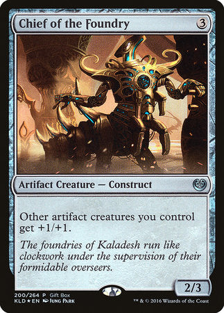 Chief of the Foundry [Kaladesh Promos] | Mothership Books and Games TX
