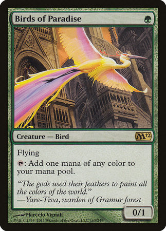 Birds of Paradise [Magic 2012] | Mothership Books and Games TX