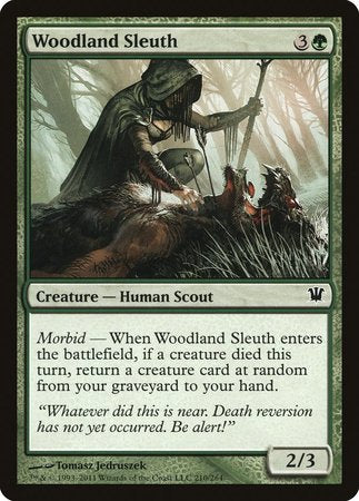 Woodland Sleuth [Innistrad] | Mothership Books and Games TX