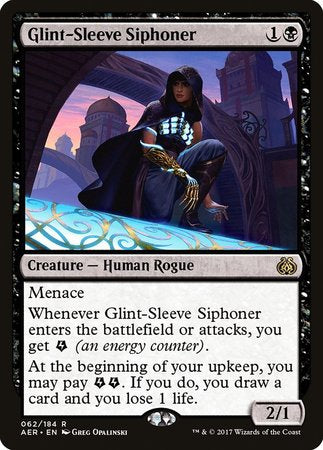 Glint-Sleeve Siphoner [Aether Revolt] | Mothership Books and Games TX