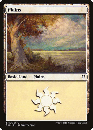 Plains (337) [Commander 2016] | Mothership Books and Games TX