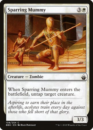 Sparring Mummy [Battlebond] | Mothership Books and Games TX
