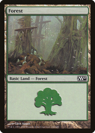Forest (246) [Magic 2010] | Mothership Books and Games TX