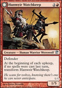 Hanweir Watchkeep [Innistrad] | Mothership Books and Games TX