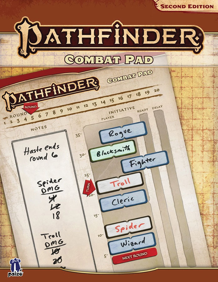 Pathfinder RPG: Combat Pad (P2) | Mothership Books and Games TX