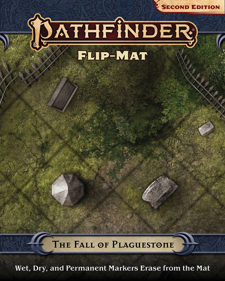 Pathfinder RPG: Flip-Mat - The Fall of Plaguestone (P2) | Mothership Books and Games TX