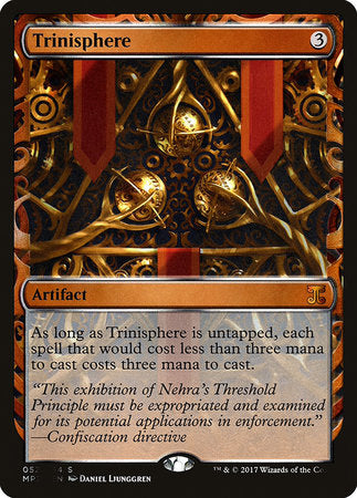 Trinisphere [Kaladesh Inventions] | Mothership Books and Games TX