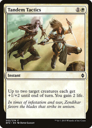 Tandem Tactics [Battle for Zendikar] | Mothership Books and Games TX