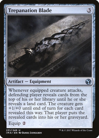 Trepanation Blade [Iconic Masters] | Mothership Books and Games TX