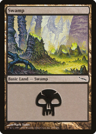 Swamp (295) [Mirrodin] | Mothership Books and Games TX