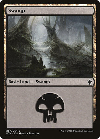 Swamp (257) [Dragons of Tarkir] | Mothership Books and Games TX