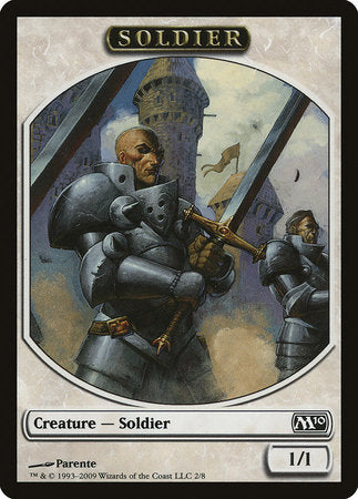 Soldier Token [Magic 2010 Tokens] | Mothership Books and Games TX