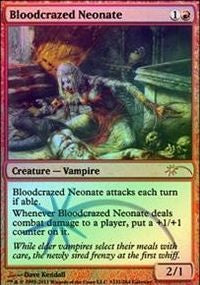 Bloodcrazed Neonate [Wizards Play Network 2011] | Mothership Books and Games TX
