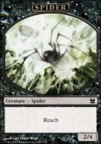 Spider Token (Black) [Modern Masters Tokens] | Mothership Books and Games TX