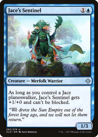 Jace's Sentinel [Ixalan] | Mothership Books and Games TX