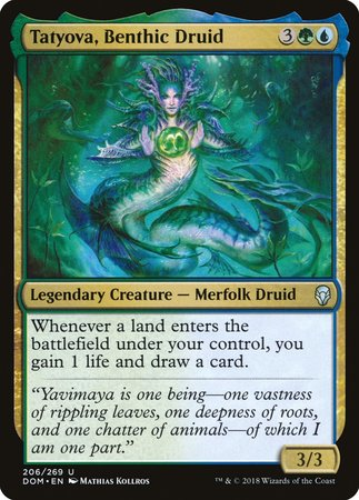 Tatyova, Benthic Druid [Dominaria] | Mothership Books and Games TX