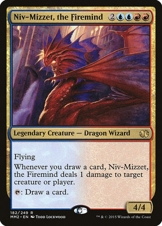 Niv-Mizzet, the Firemind [Modern Masters 2015] | Mothership Books and Games TX