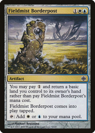Fieldmist Borderpost [Alara Reborn] | Mothership Books and Games TX