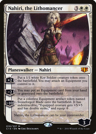 Nahiri, the Lithomancer [Commander 2014] | Mothership Books and Games TX