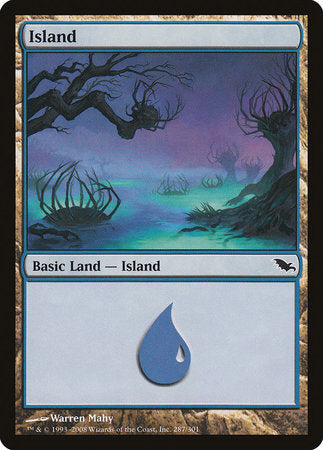 Island (287) [Shadowmoor] | Mothership Books and Games TX