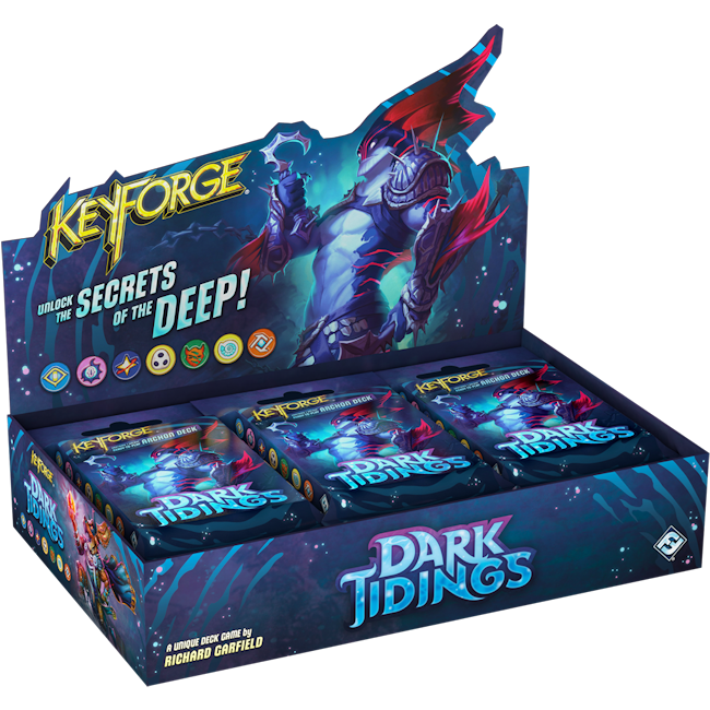 Keyforge Dark Tidings Archon Deck Display (PREORDER) | Mothership Books and Games TX