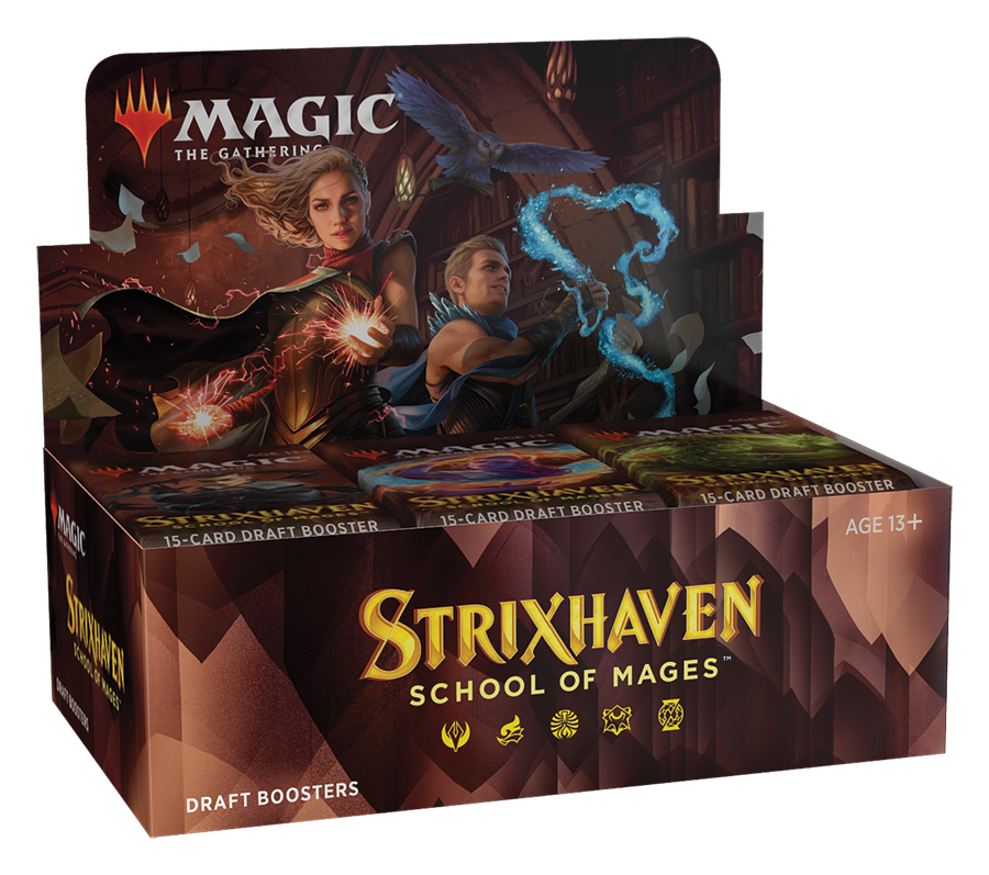 Strixhaven Draft Booster Box Display (PREORDER) | Mothership Books and Games TX