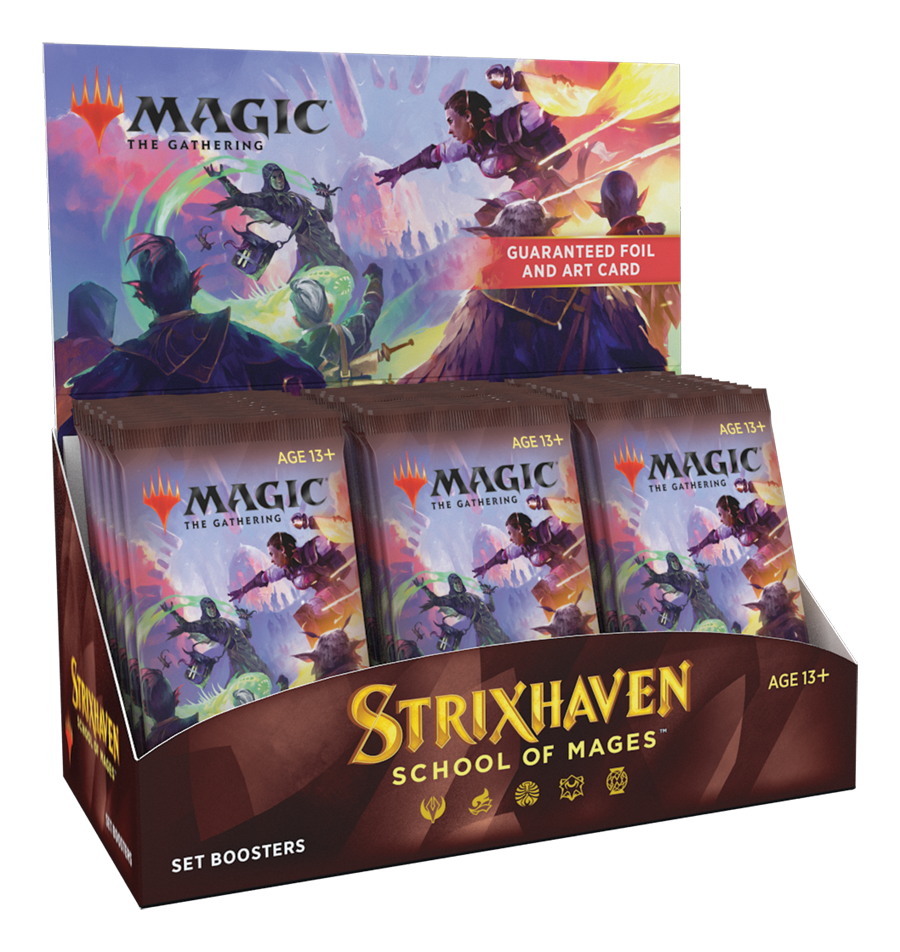 Strixhaven Early Release *Set* Booster Box Display (PREORDER) | Mothership Books and Games TX
