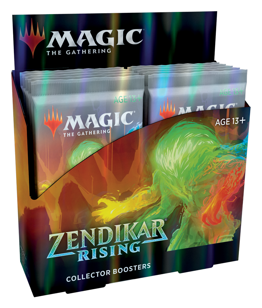 Zendikar Rising Collector Booster Display (PREORDER) | Mothership Books and Games TX