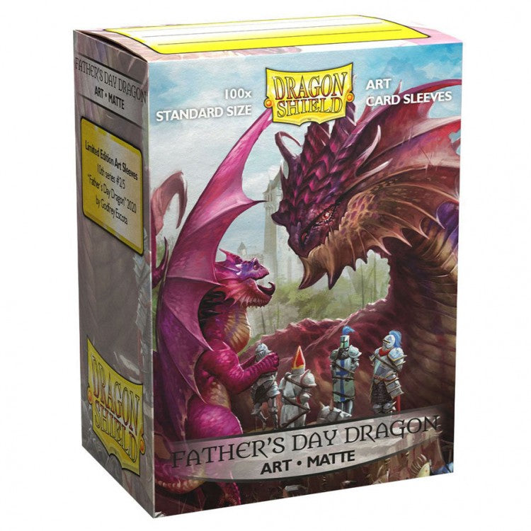 Dragon Shield Father's Day Dragon Matte Art Sleeves (Standard Size) | Mothership Books and Games TX