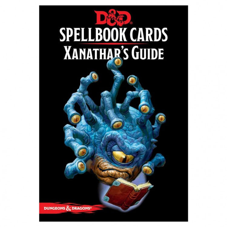 D&D Spellbook Cards: Xanathar's Guide Deck | Mothership Books and Games TX