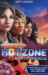 Pandemic: Hot Zone North America | Mothership Books and Games TX