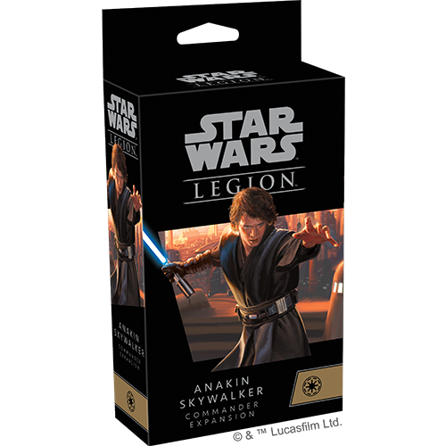 Star Wars Legion: Anakin Skywalker Commander Expansion (PREORDER) | Mothership Books and Games TX