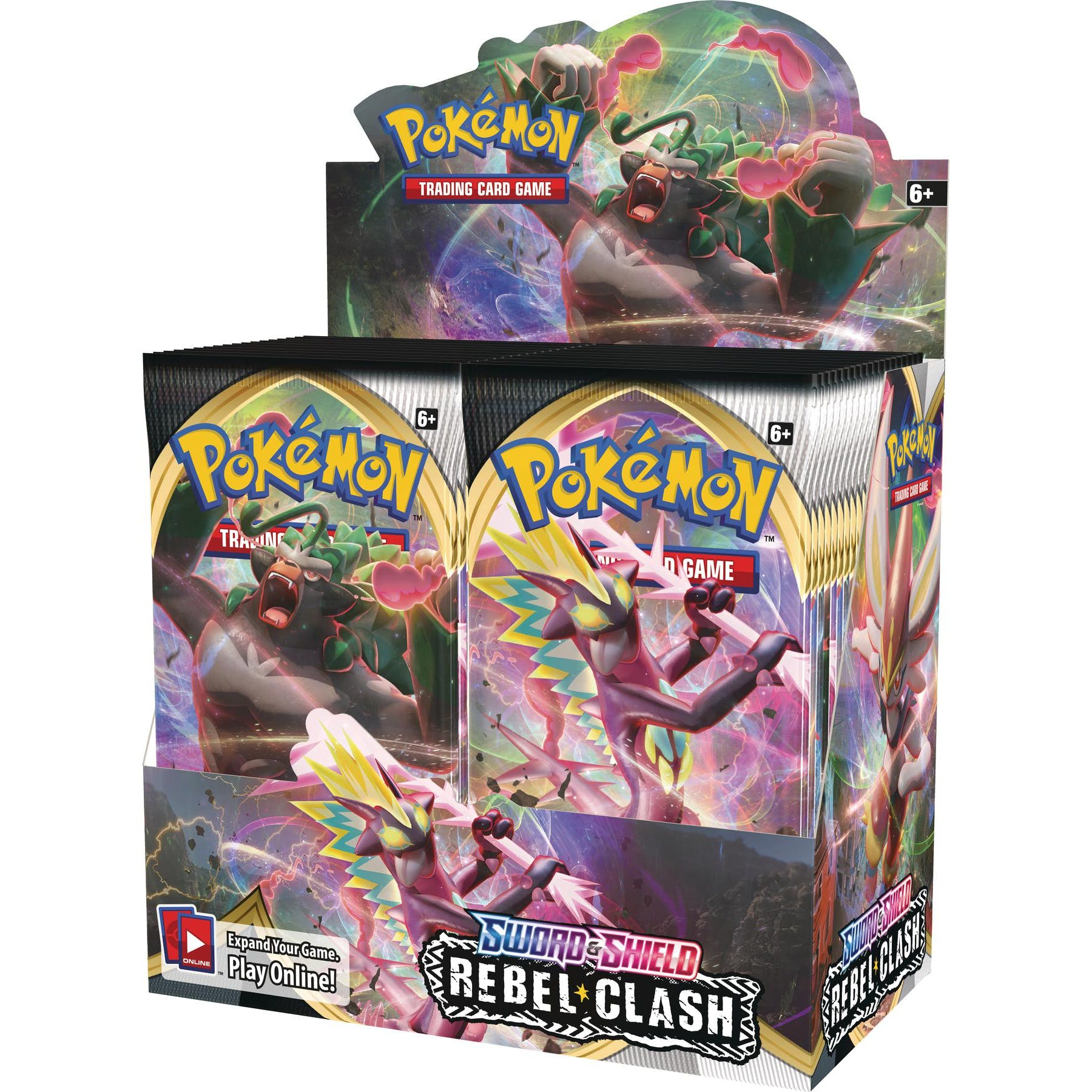 Pokemon SS2 Rebel Clash Booster Box | Mothership Books and Games TX