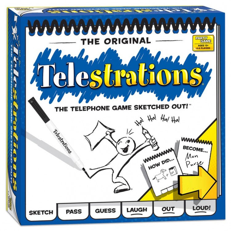 Telestrations | Mothership Books and Games TX