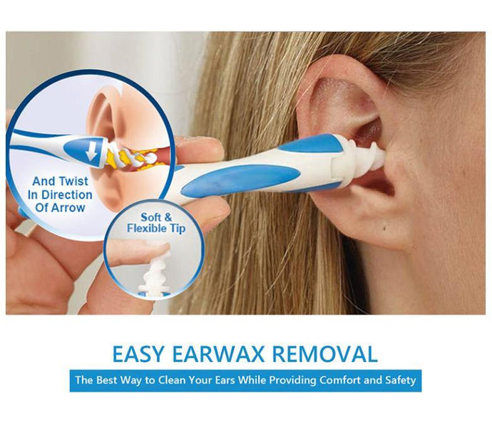 What is a safe way to clean ear wax from your ears?