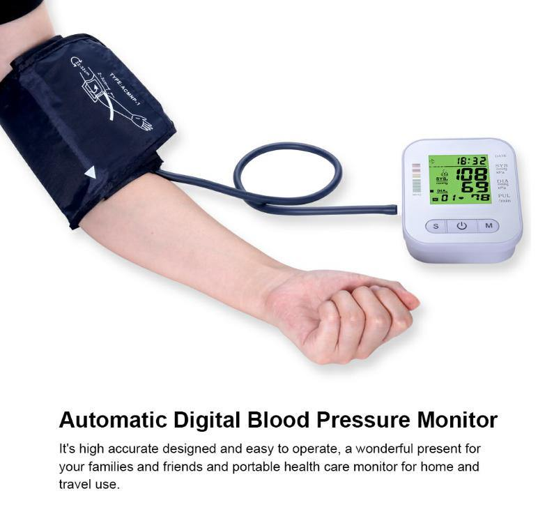 LCD Automatic Digital Blood Pressure Monitor LCD Automatic Digital Blood Pressure Monitor ltd-deals-uk.