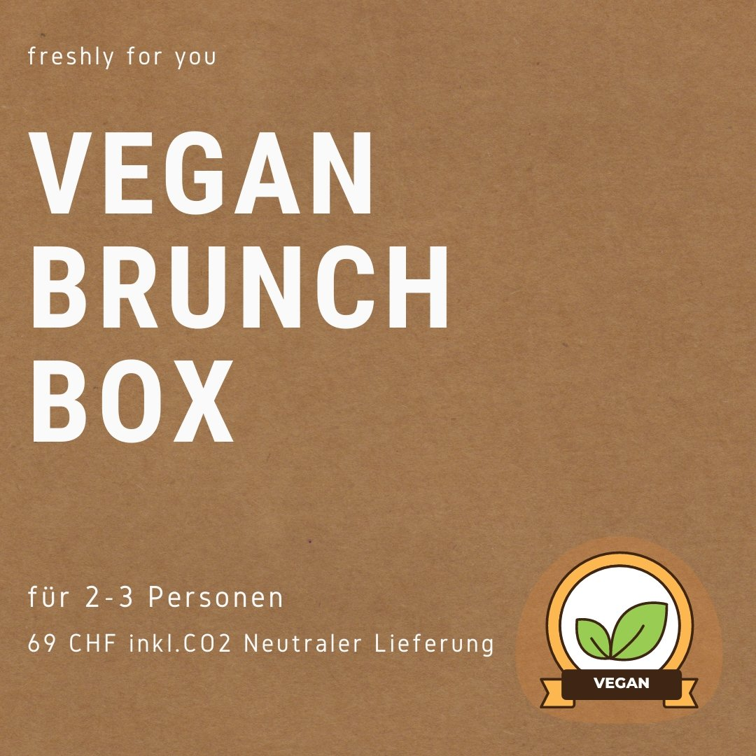 VEGAN BRUNCH BOX (für 2-3 Personen) - MrBrunch AG