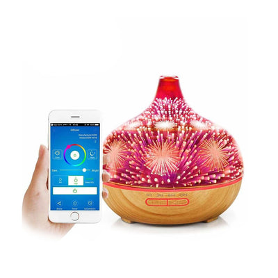 Humidificateur d'air <br> La Veilleuse Feu d'artifice