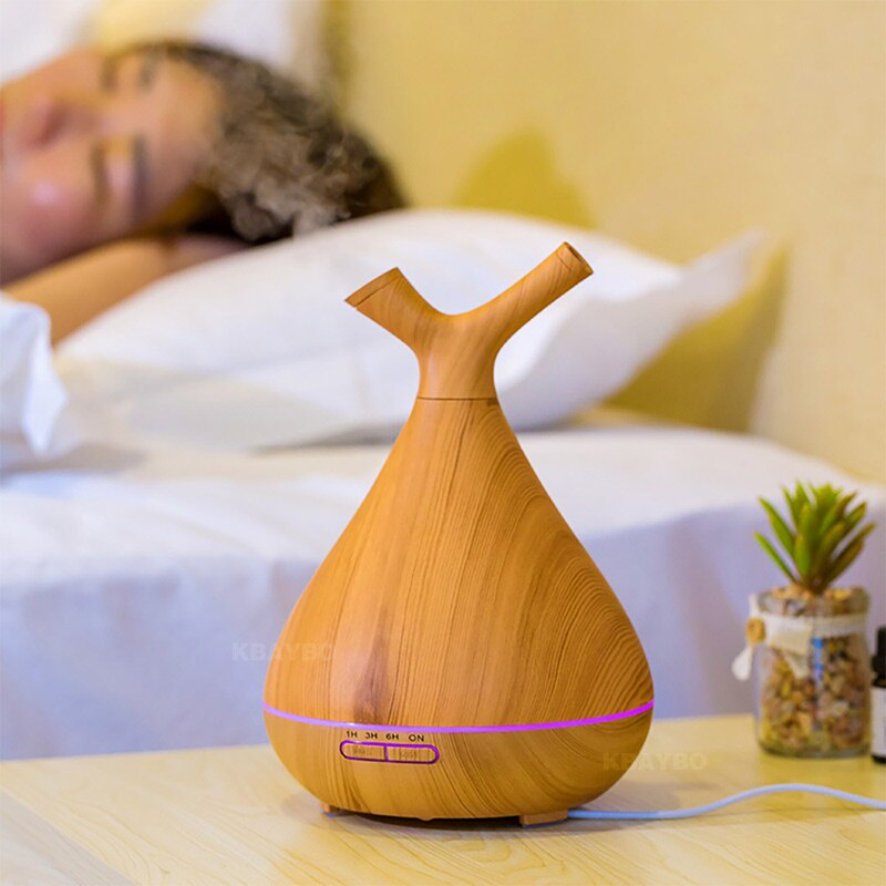 Humidificateur d'air en Bois | Le Purificateur