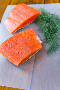 BC Spring Salmon Fillet Portions