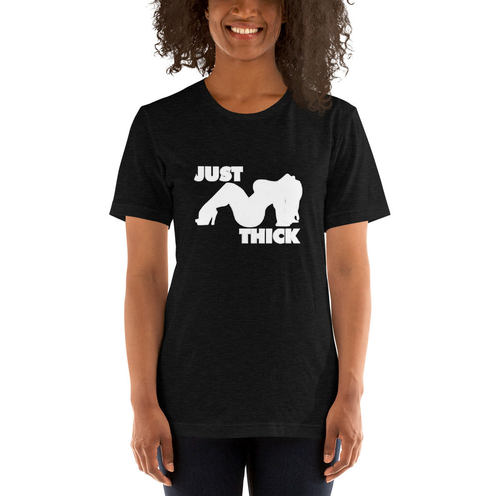 Original Just Thick White Silhouette (Heather Black)