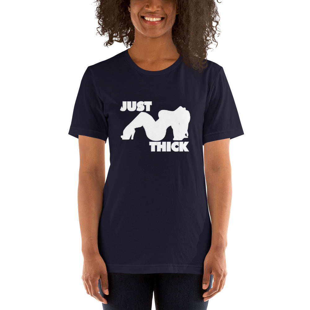 Original Just Thick White Silhouette (Navy)